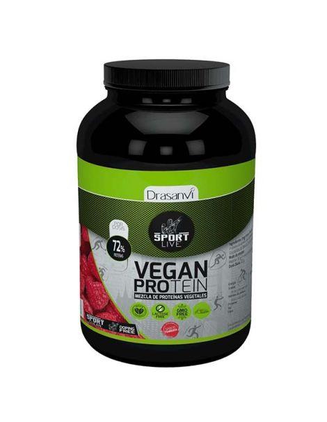 Proteína Vegetal Sabor Frambuesa Sport Drasanvi - 600 gramos