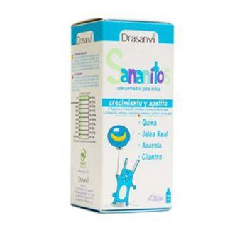 Sananitos Crecimiento y Apetito Drasanvi - 150 ml.