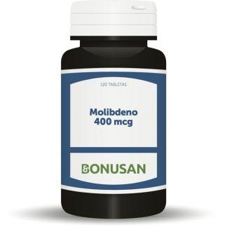 Molibdeno 400 mcg. Bonusan - 120 tabletas