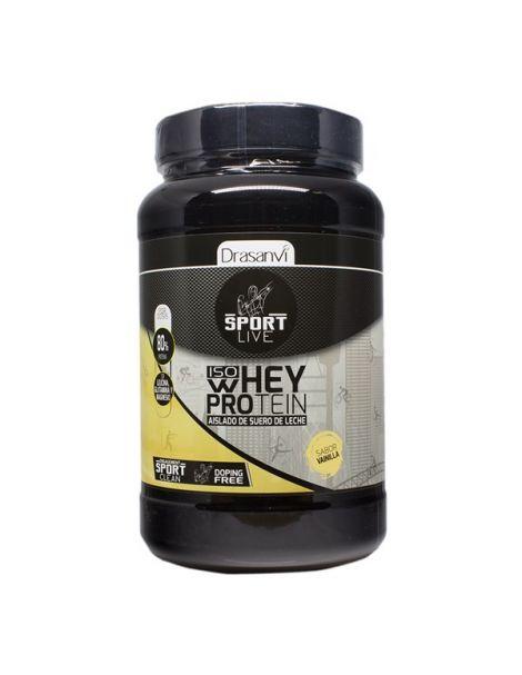 Whey Protein Aislado Vainilla Drasanvi - 800 gramos