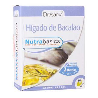 Nutrabasics Hígado de Bacalao Drasanvi - 60 perlas