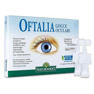 Oftalia Gocce Oculari Naturando Tongil - 10 monodosis