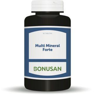 Multi Mineral Forte Bonusan - 90 tabletas.