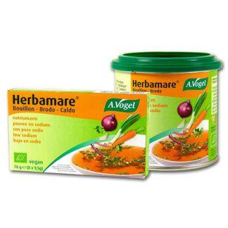 Caldo Herbamare (Bouillon) Bajo en Sodio A.Vogel - 200 gramos