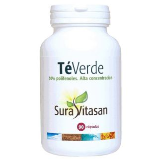 Té Verde 50% Polifenoles 250 mg. Sura Vitasan - 90 cápsulas