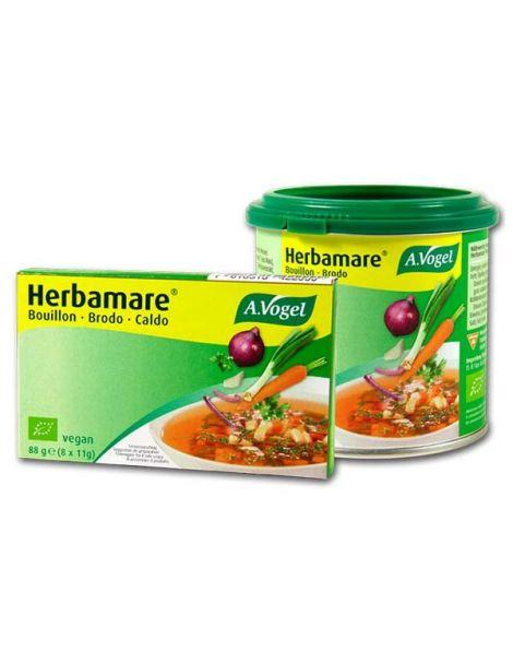 Caldo Vegetal con Sal Herbamare A.Vogel - 8 cubitos