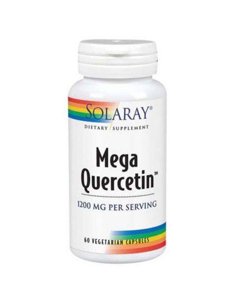 Mega Quercitina 600 mg. Solaray - 30 cápsulas