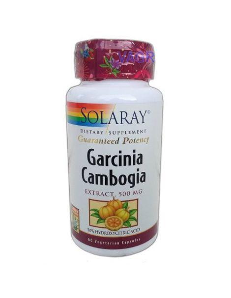 Garcinia Cambogia Solaray - 60 cápsulas