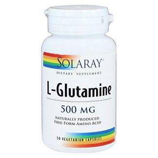 L-Glutamina Polvo Solaray - 300 gramos