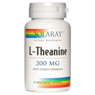 L-Theanina 200 mg. Solaray - 30 comprimidos masticables