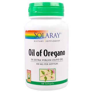 Oil Oregan 150 mg. Solaray - 60 perlas