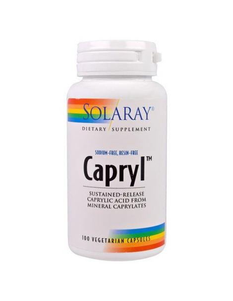 Capryl (Ácido Caprílico) Solaray - 100 cápsulas