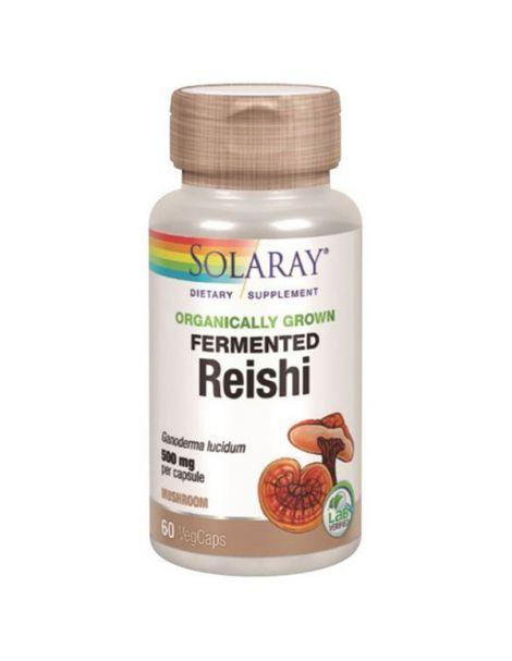 Reishi Solaray - 60 cápsulas