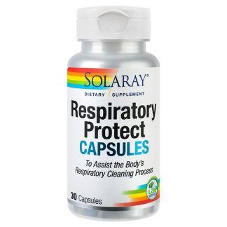 Respiratory Protect Solaray - 30 cápsulas