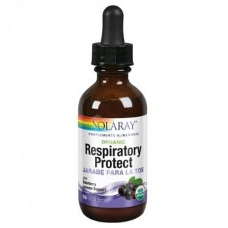 Jarabe Respiratory Protect Solaray - 59 ml.