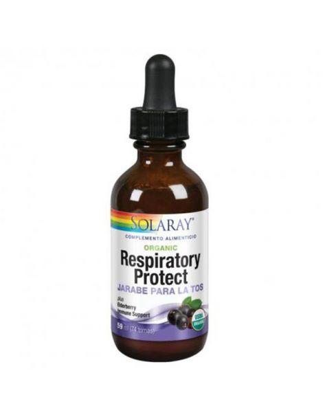 Jarabe Respiratory Protect Solaray - 59 ml.