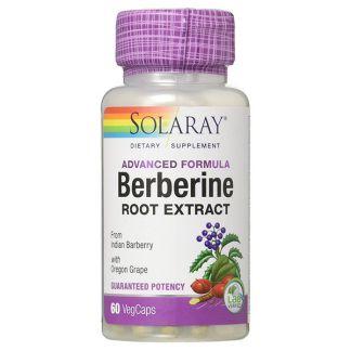 Berberine Solaray - 60 cápsulas