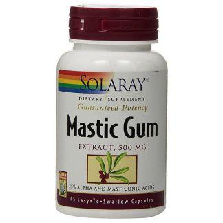 Mastic Gum Solaray - 45 cápsulas