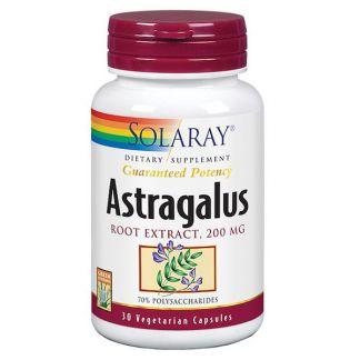 Astragalus Solaray - 30 cápsulas