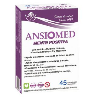 Ansiomed Mente Positiva Bioserum - 45 comprimidos