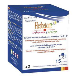 Herbetom Kids Defensas y Energía Bioserum - 15 monodosis