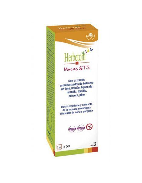 Herbetom Kids Mucos&TS Bioserum - 250 ml.