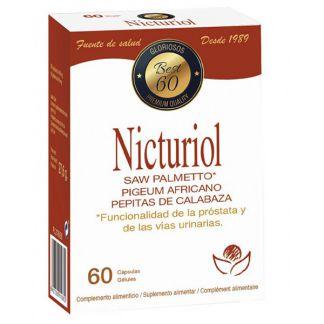 Nicturiol Bioserum - 60 cápsulas