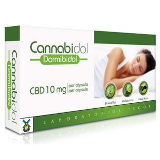 Cannabidol Dormibidiol Tegor - 14 cápsulas