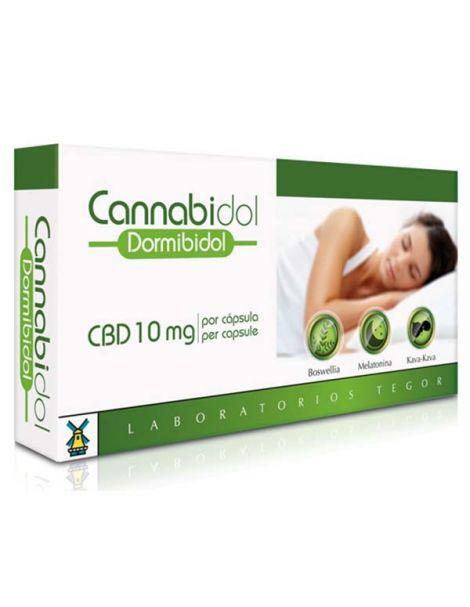 Cannabidol Dormibidiol Tegor - 40 cápsulas