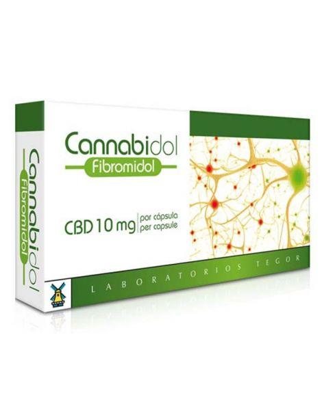 Cannabidol Fibromidol Tegor - 40 cápsulas