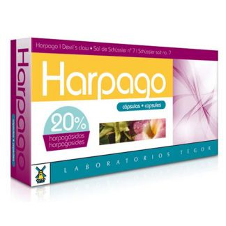 Harpago Tegor - 40 cápsulas