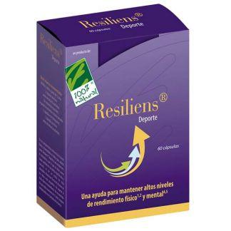 Resiliens Deporte Cien por Cien Natural - 60 cápsulas