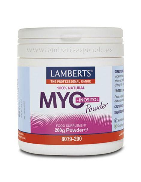 Myo Inositol Lamberts - 200 gramos