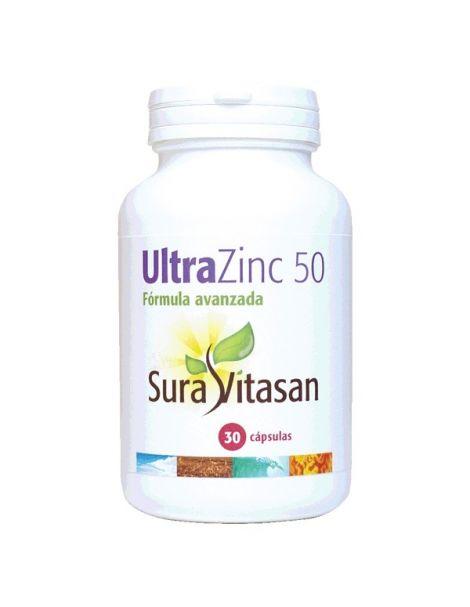 Ultra Zinc 50 mg. Sura Vitasan - 30 cápsulas
