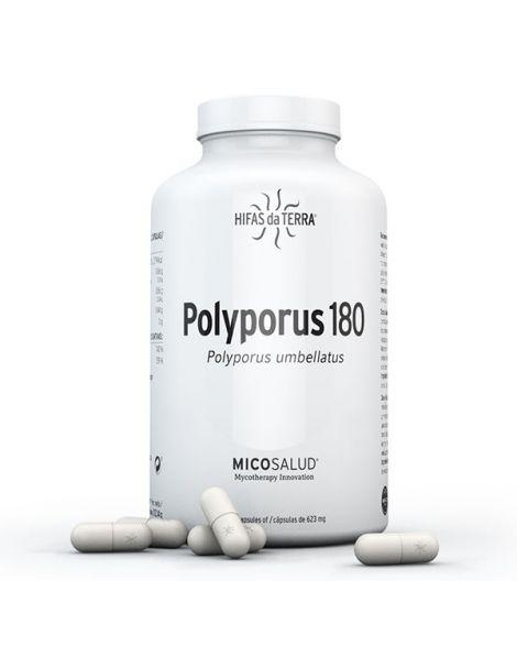 Polyporus 180 Hifas da Terra - 180 cápsulas