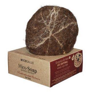 Jabón Mico-Soap Sponge Caléndula y Limón Hifas da Terra - 150 gramos