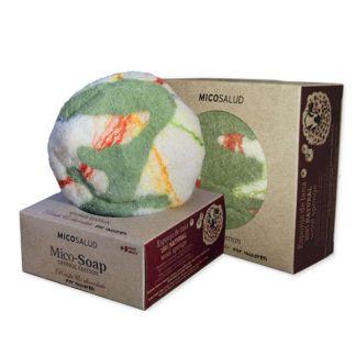Jabón Mico-Soap Sponge Reishi y Chocolate Hifas da Terra - 150 gramos