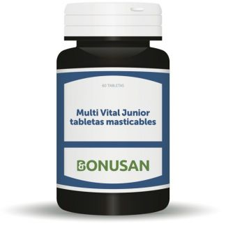 Multi Vital Junior Tabletas Masticables Bonusan - 60 tabletas