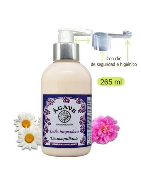 Leche Limpiadora Desmaquillante Ágave - 250 ml.