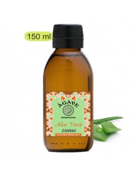 Zumo de Aloe Vera Bio Uso Tópico Ágave - 150 ml.