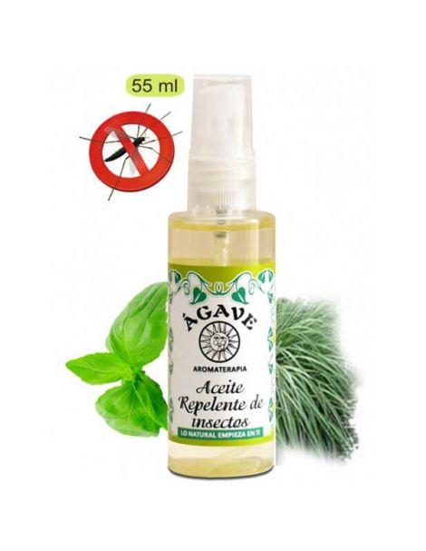 Aceite Repelente de Insectos Ágave - 55 ml.