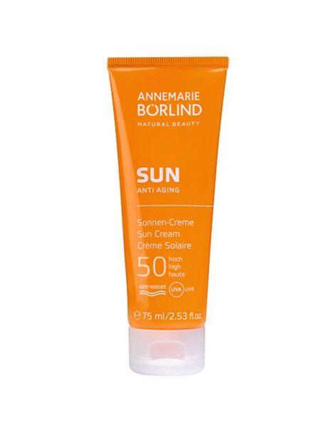 SUN Crema Solar Facial IP 50 Alto AnneMarie Börlind - 75 ml.