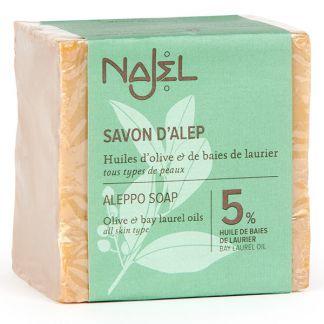 Jabón de Alepo 5% Najel - 200 gramos