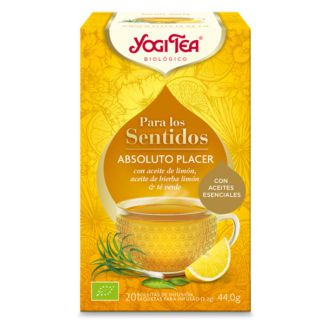 Yogi Tea Para los Sentidos Absoluto Placer - 20 bolsitas