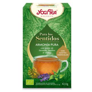 Yogi Tea Para los Sentidos Armonía Pura - 20 bolsitas