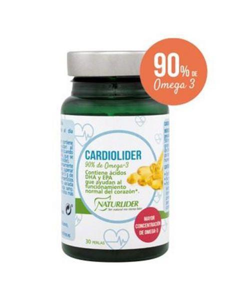 Cardiolider Naturlíder - 30 perlas