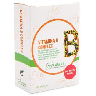 Vitamina B Complex Naturlíder - 60 cápsulas
