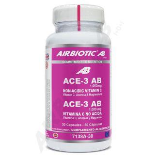 ACE-3 1000 mg. Airbiotic - 30 cápsulas