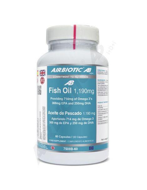 Aceite de Pescado Airbiotic - 60 cápsulas