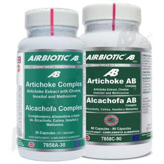 Alcachofa Complex Airbiotic - 30 cápsulas